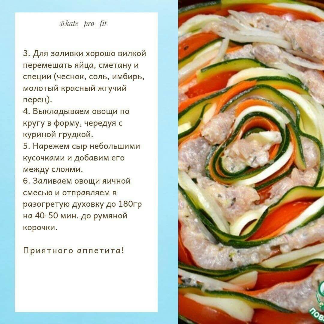Куриные запеканки с овощами
