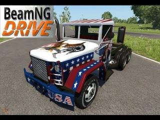 BeamNG DRIVE M35A2 Racing
