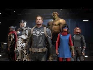 Прохождение Marvel's Avengers (Мстители Марвел) — Часть 15: Линкор