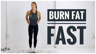 Low Impact FAT BURNING HIIT Workout / No Jumping Workout!