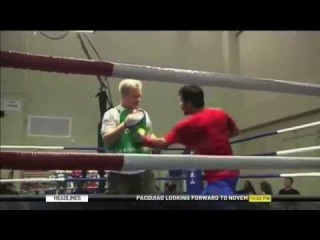 Pacquiao gears up for November title defense fight