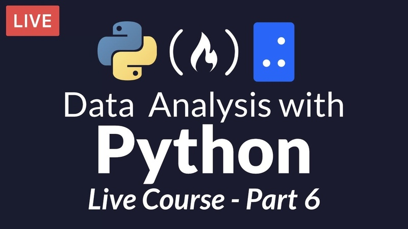 Data Analysis with Python Part 6 of 6 - Exploratory Data Analysis - A Case Study [Live Course]