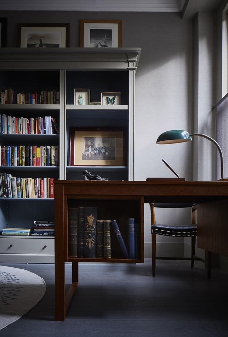 Приглушенные тона в интерьере апартаментов в Лондоне