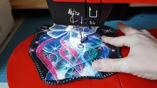 Лапка для свободно- ходовой вышивки.
