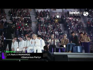 [Reaction Cam] BTS & TXT & ATEEZ Reaction to  X MAMAMOO @ 2019 MAMA