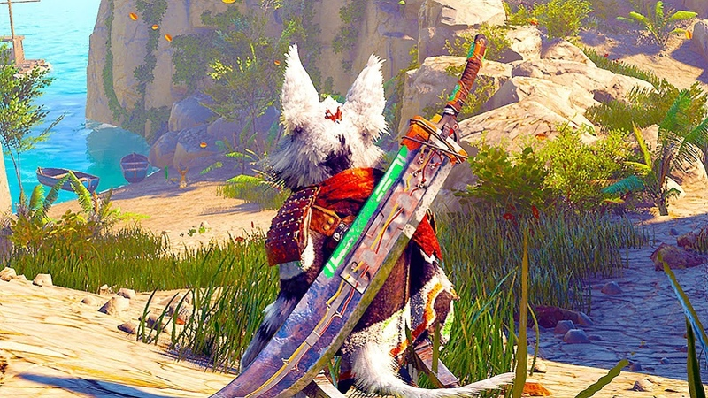 BIOMUTANT NEW Gameplay 13 Minutes Demo No Commentary Gamescom 2018