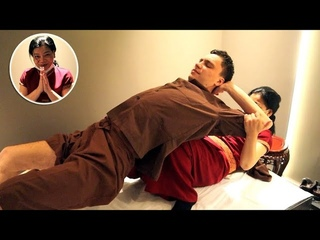 ASMR Strong Thai massage in Russia
