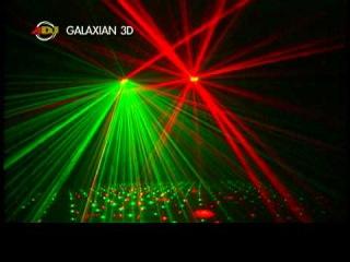 Лазер (красный / зелёный) American DJ Galaxian 3D