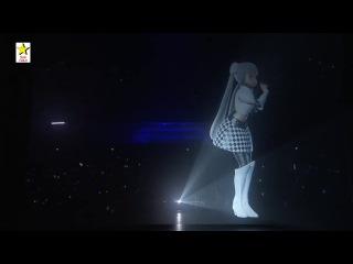 Мисс Монохром Ещё одна японская виртуальная певица