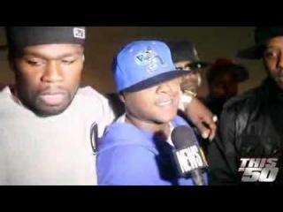 50 Cent x D Block x Maino x Cory Gunz x Trav   Behind The Scenes MTV Interview   Thisis50 Fest