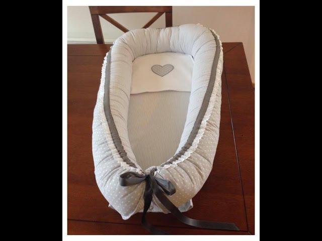 Tutorial Hvordan sy babynest/ How to sew a babynest