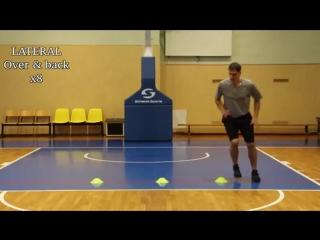 Тренировка для развития ловкости и скорости ног
