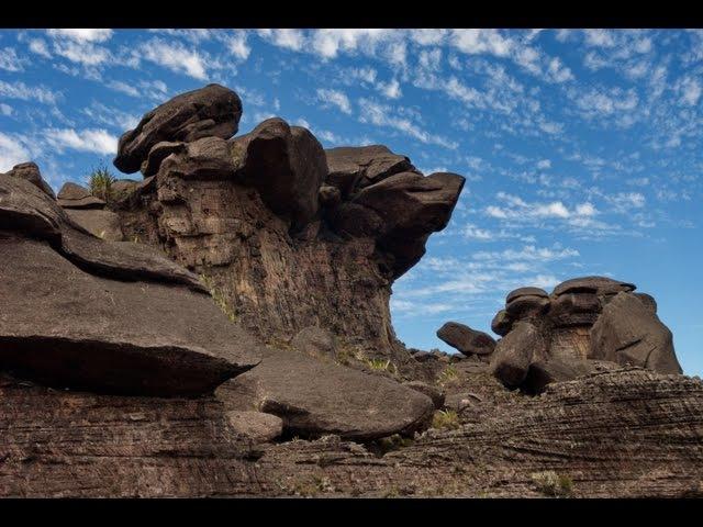 Мир Приключений - Поход к пещере на горе Рорайма. Лучший отдых в Венесуэла. Roraima. Venezuela