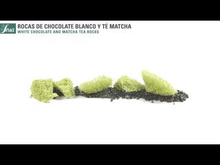 Rocas de Chocolate y Té Matcha · Lecitina de Soja