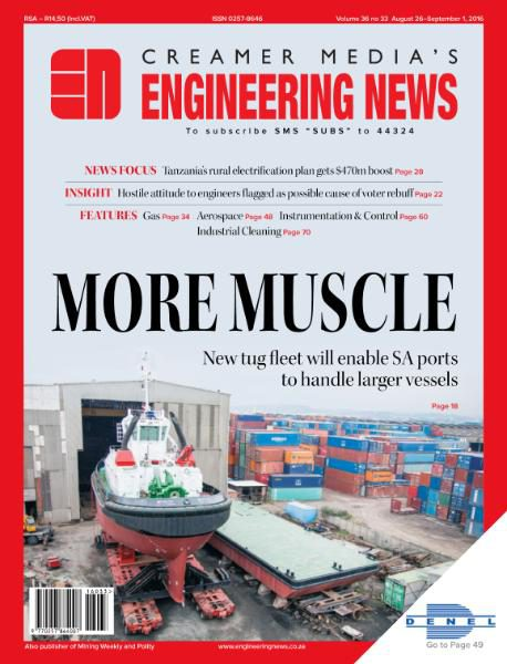 Engineering News - August 26 2016