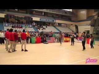 VERTIFIGHT WORLD 2012 | 1/8 Finals | La Energique (Italy) vs. ReAct (Portugal)