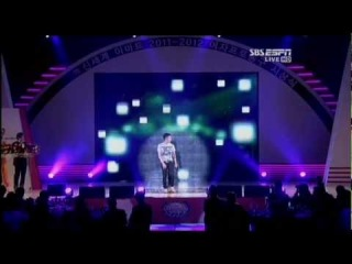 [PERF] 120409 Jay Park - Count On Me, Know Your Name 's basketball Opening Ceremony WKBL