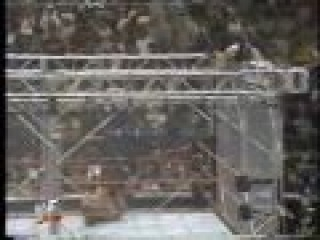 Wwf Raw is War 1999 - Steel Cage Match: The Rock vs Triple H Part (2/2)