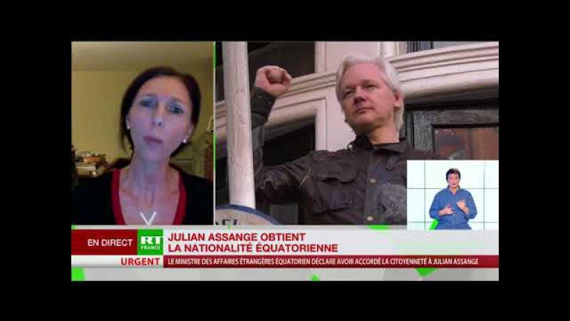 ASSANGE Stéphanie Gibaud lanceuse d'alerte La démocratie arrive par l'Equateur