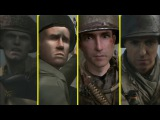 D-Day Landing Sequence Comparison - MoH Frontline vs Allied Assault vs CoD2 vs CoD WWII