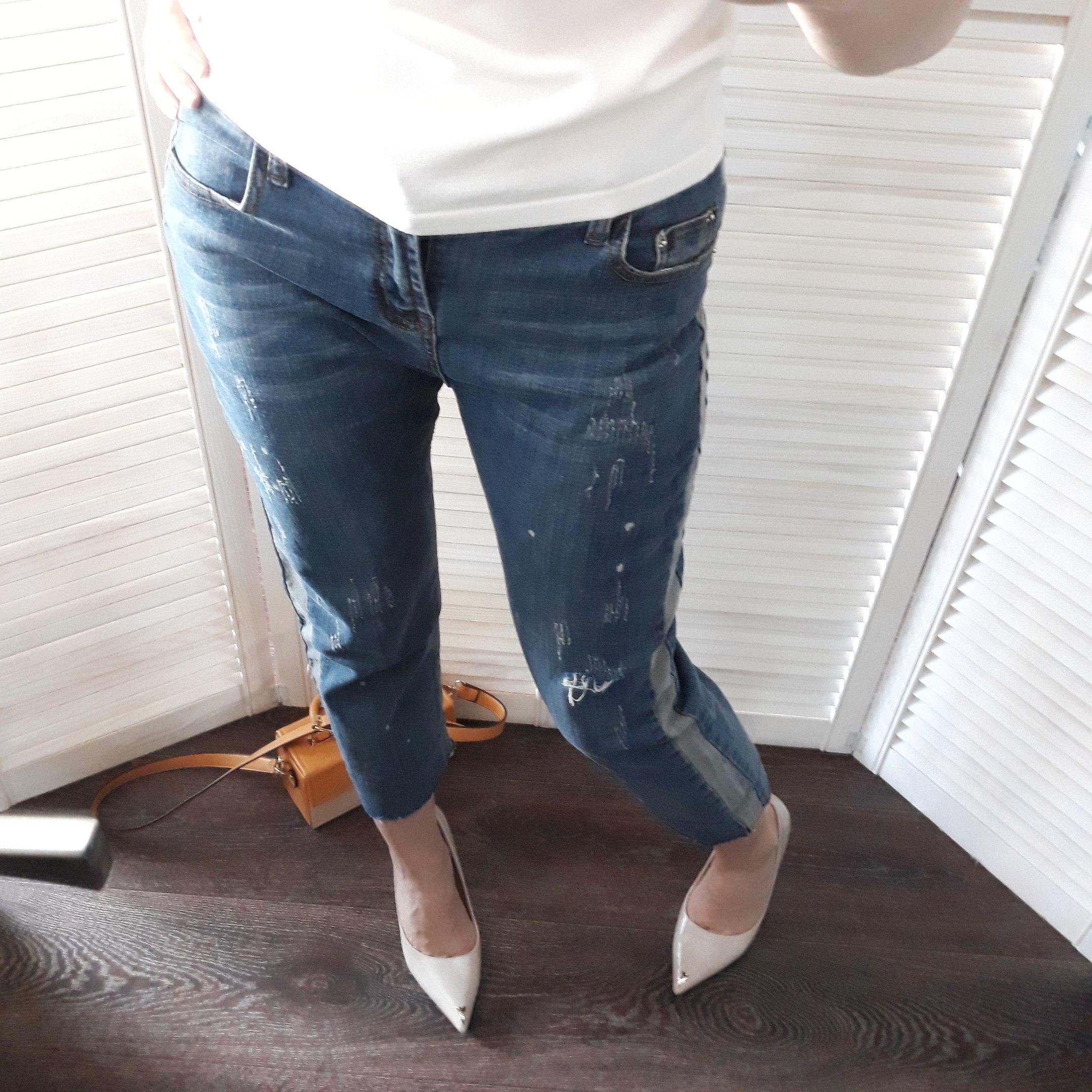 Отличные укороченные джинсы