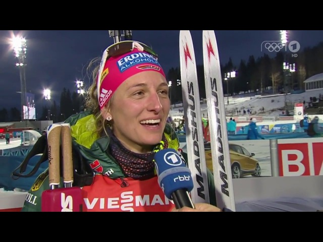 Östersund-2017. Comments from Vanessa Hinz after single mixed relay