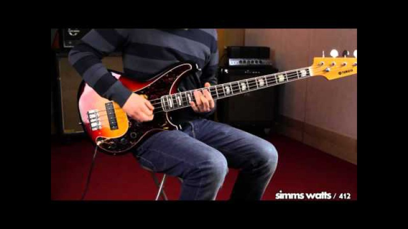 Yamaha SB-75 Bass Demo Japan 1970s