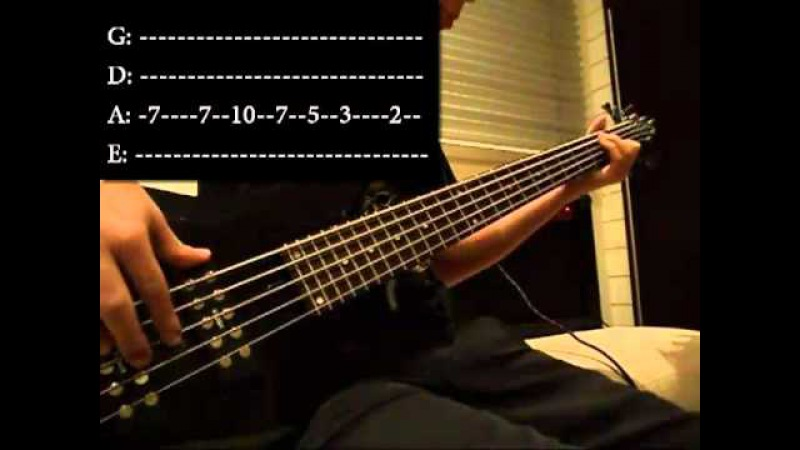 Seven Nation Army Bass Cover With Tab HD