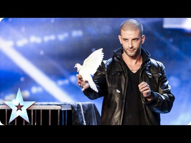 Darcy Oake's jaw dropping dove illusions Britain's Got Talent 2014 смотреть онлайн без регистрации