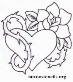 drawings of hearts - HD941×1059