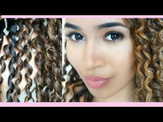 Heatless Curls | 3 STRAND TWIST OUT!