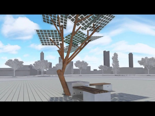 Солнечное дерево в Израиле