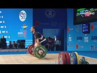 2015 European Weightlifting Championships 56 kg Men \ Чемпионат Европы