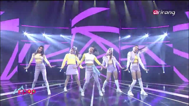 VK Simply K Pop Ep159 ROO Blady CLC MAD TOWN LABOUM @ Arirang TV