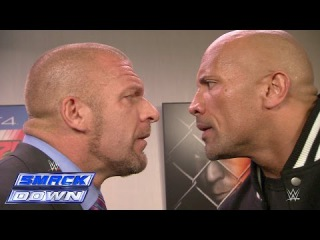 [#My1] The Rock and Triple H take an aggressive stroll down memory lane: SmackDown, Oct. 10, 2014