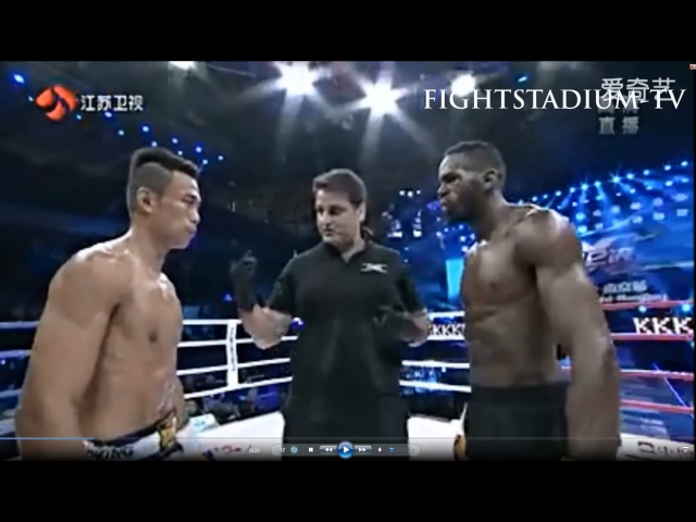 Murthel Groenhart vs Sittichai Sitsongpeenong **Fightstadium TV** Jiangsu TV