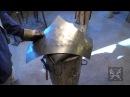 Fabrication d'armure médiévale Making of medieval armor 16