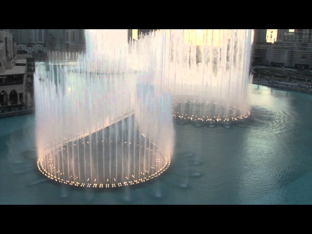 The Dubai Fountain: Sama Dubai (Opener) Shot/Edited with 5 HD Cameras - 1 of 9 (HIGH QUALITY!)
