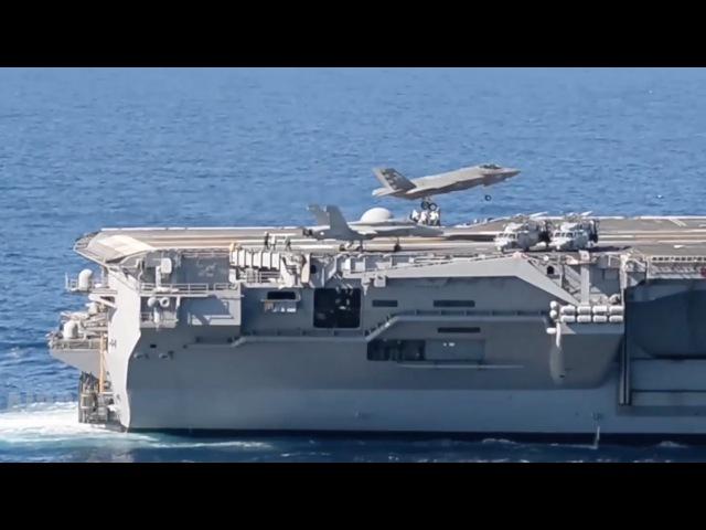 F-35 Sea Trials USS Nimitz (CVN-68)