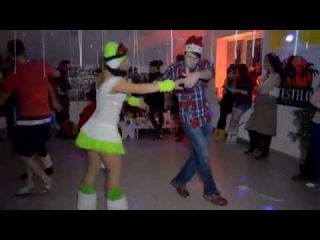 D'estilo New Year Party '14-15. Zouk 1.