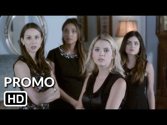 Pretty Little Liars 5x03 FOX8 Promo Surfing the Aftershocks [HD]