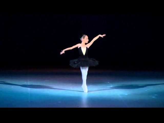 Танец маленького чёрного лебедя в Большом театре