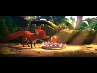 Лисья история _ a fox tale a short animation hd