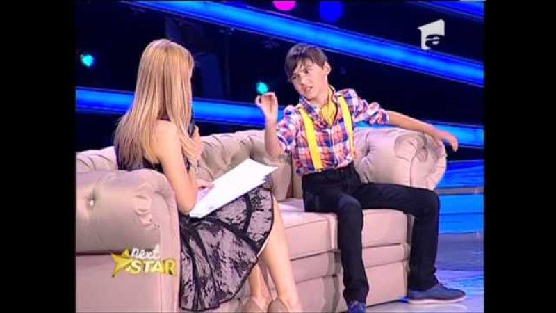 Next Star - Vlad Corb, actorul care a jucat pe aceeasi scena cu Simona Gherghe [30 MAI 2013]