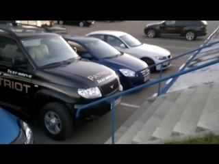 OffRoad 4х4. Test drive Toyota vs UAZ Patriot тест драйв Extreme 4x4
