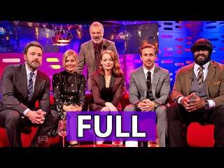 The Graham Norton Show FULL S20E14: Ben Affleck, Sienna Miller, Ryan Gosling, Emma Stone, et al