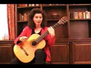 A Guitar Lesson with Sharon Isbin Part 1 - Sharon Isbin