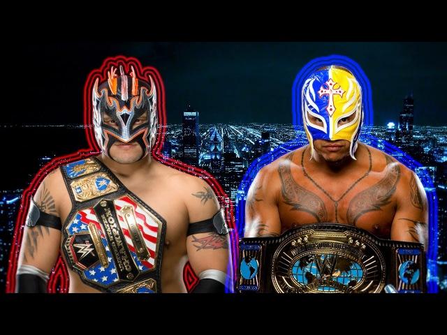 WWE/AAA/L.U Rey Mysterio and Kalisto I'm Good HD