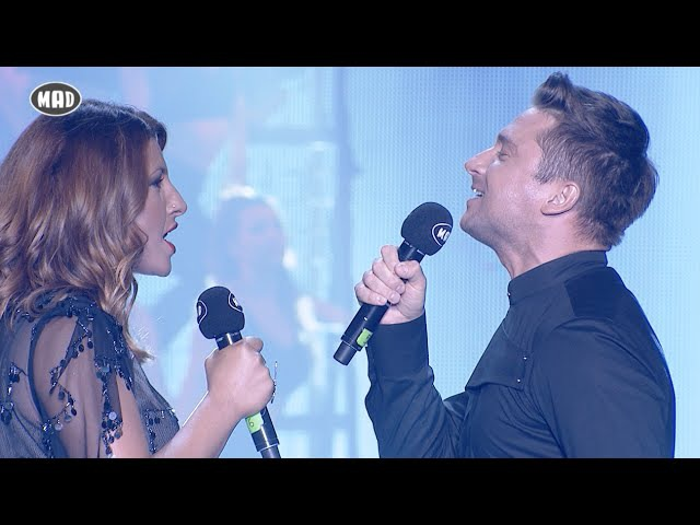 Sergey Lazarev Έλενα Παπαρίζου - You are the only one (Mad VMA 2016)