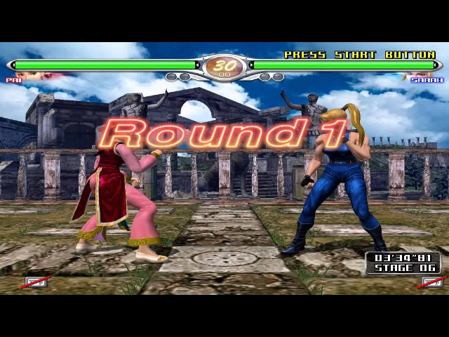 VIRTUA FIGHTER 4 FiNAL TUNE PC Emulator Demul VF4 Pai play 60fps